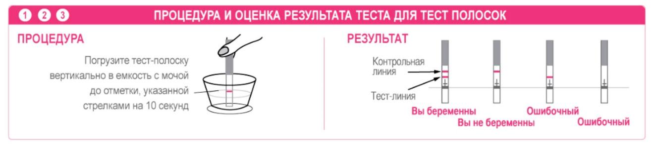 Тест беременность срок определяется